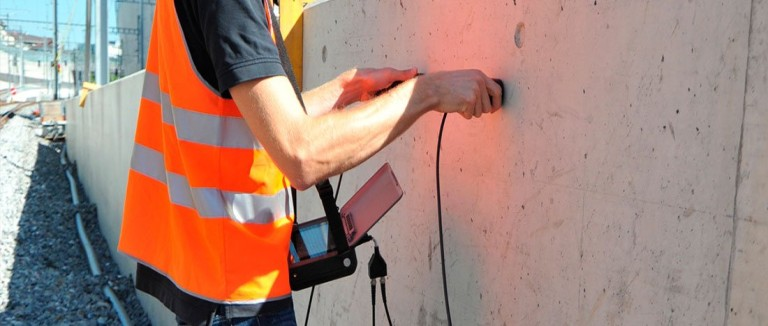 Ultrasonic Testing of Concrete