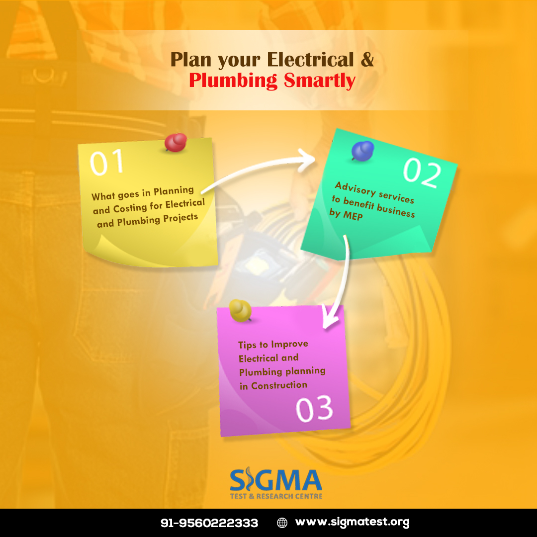 Plan your Electrical and Plumbing Smartly